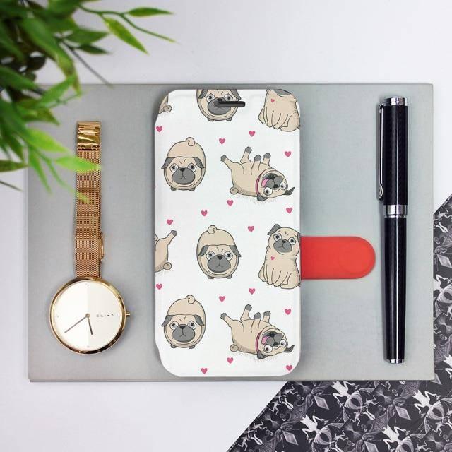 Flipové pouzdro Mobiwear na mobil Samsung Galaxy A52 / A52 5G / A52s 5G - M097P Mopsíci