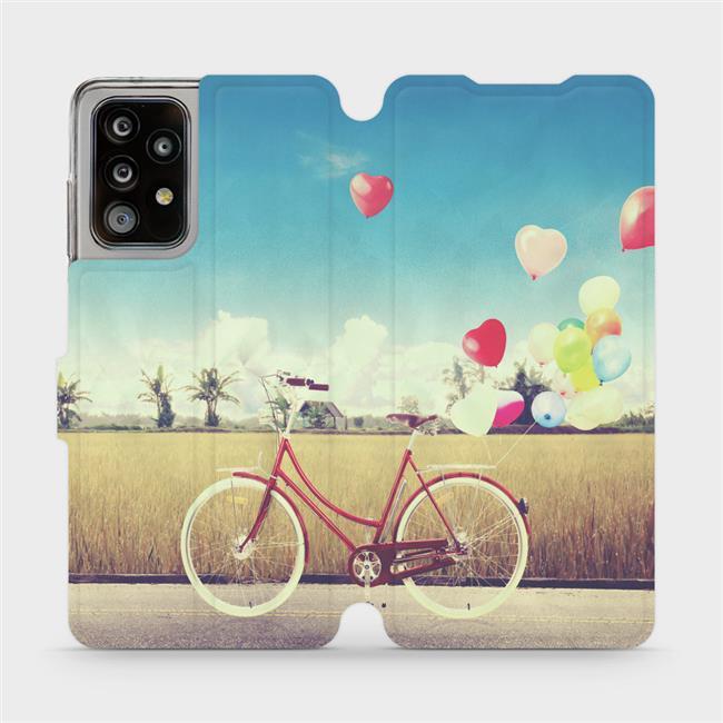 Flipové pouzdro Mobiwear na mobil Samsung Galaxy A52 / A52 5G / A52s 5G - M133P Kolo a balónky