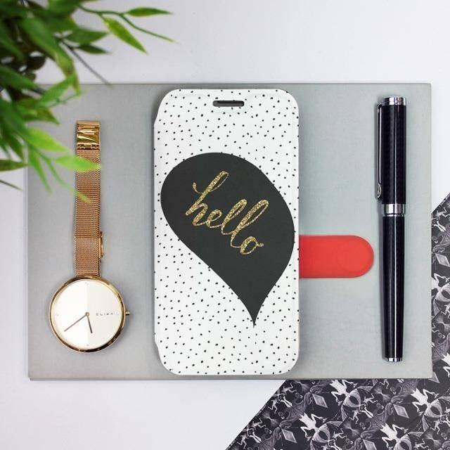 Flipové pouzdro Mobiwear na mobil Samsung Galaxy A52 / A52 5G / A52s 5G - M013P Golden hello