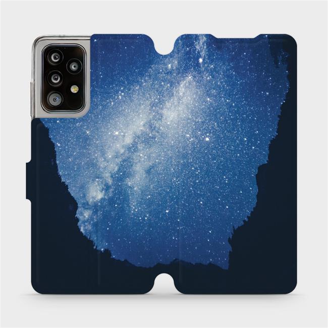 Flipové pouzdro Mobiwear na mobil Samsung Galaxy A52 / A52 5G / A52s 5G - M146P Galaxie