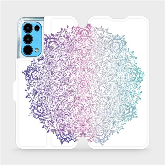 Flip pouzdro Mobiwear na mobil OPPO Reno5 5G - M008S Mandala