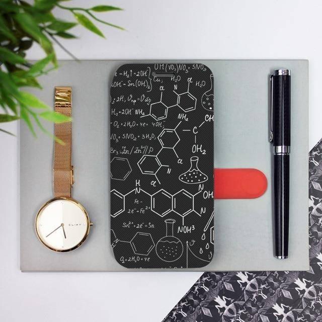 Flipové pouzdro Mobiwear na mobil Samsung Galaxy A72 - V060P Vzorečky