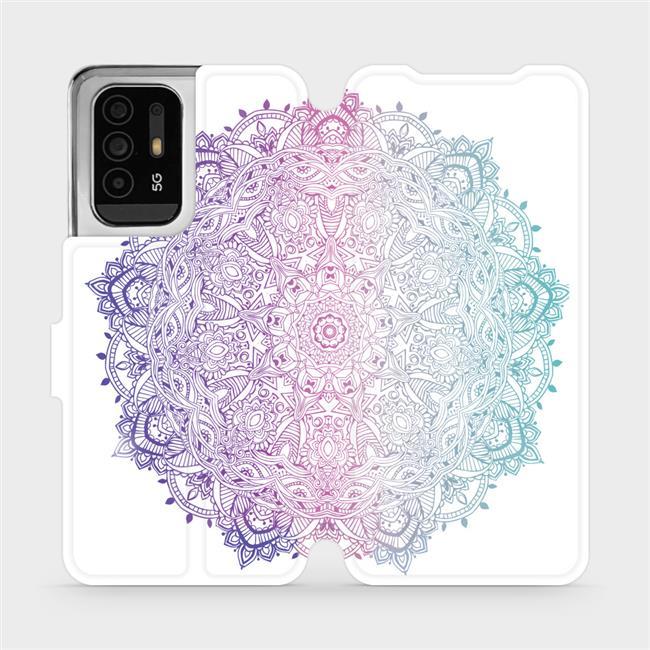 Flip pouzdro Mobiwear na mobil OPPO Reno5 Z 5G - M008S Mandala