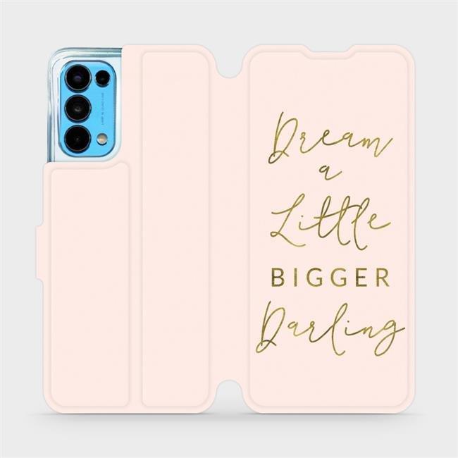 Flip pouzdro Mobiwear na mobil OPPO Reno5 5G - M014S Dream a little