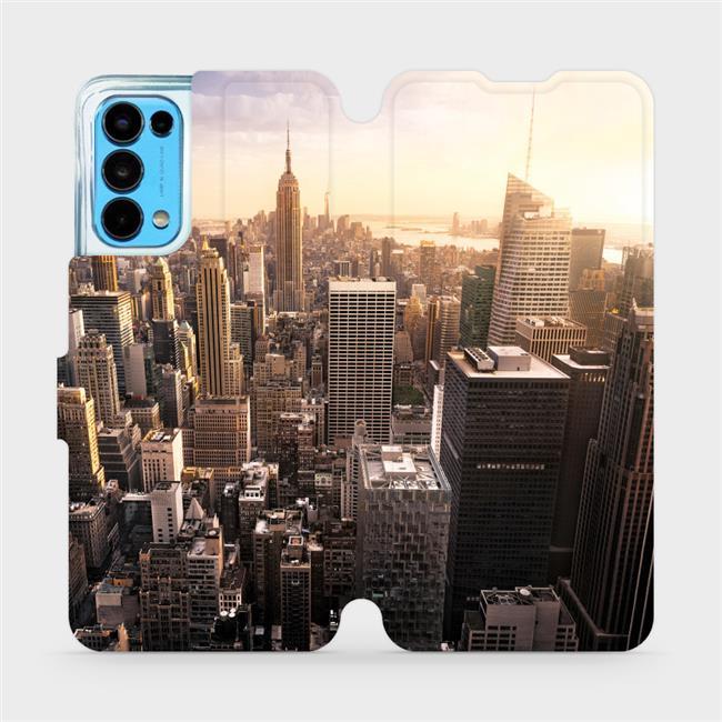 Flip pouzdro Mobiwear na mobil OPPO Reno5 5G - M138P New York