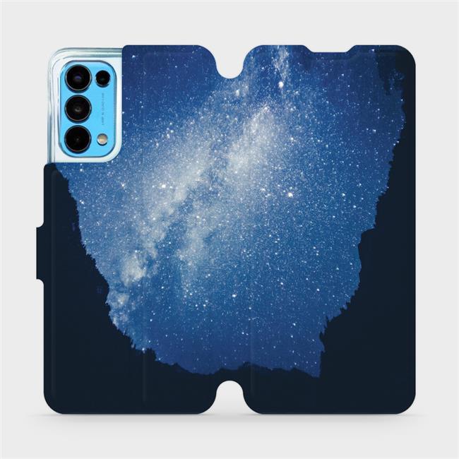 Flip pouzdro Mobiwear na mobil OPPO Reno5 5G - M146P Galaxie