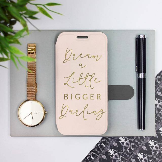 Flipové pouzdro Mobiwear na mobil Samsung Galaxy A72 - M014S Dream a little