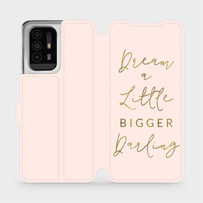 Flip pouzdro Mobiwear na mobil OPPO Reno5 Z 5G - M014S Dream a little