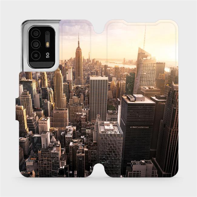 Flip pouzdro Mobiwear na mobil OPPO Reno5 Z 5G - M138P New York