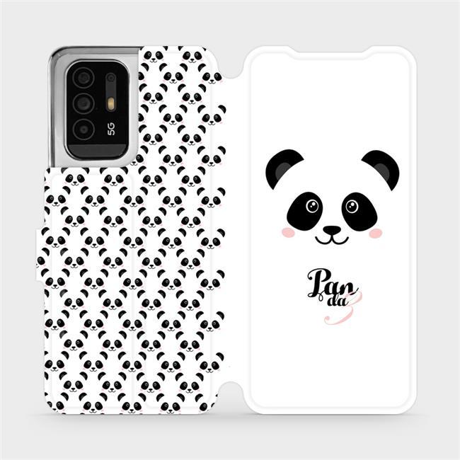 Flip pouzdro Mobiwear na mobil OPPO Reno5 Z 5G - M030P Panda Amálka