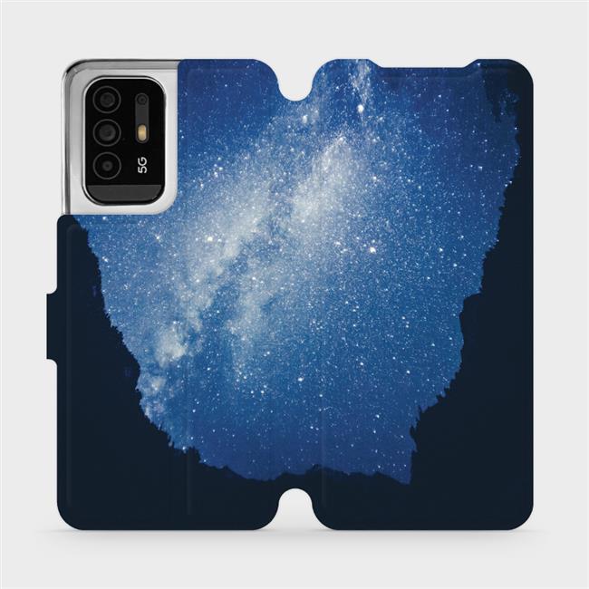 Flip pouzdro Mobiwear na mobil OPPO Reno5 Z 5G - M146P Galaxie