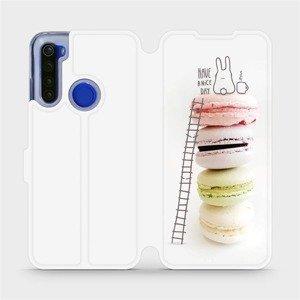Flipové pouzdro Mobiwear na mobil Xiaomi Redmi Note 8T - M090P Makronky - have a nice day