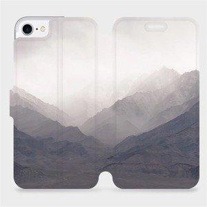 Flipové pouzdro Mobiwear na mobil Apple iPhone SE 2020 - M151P Hory