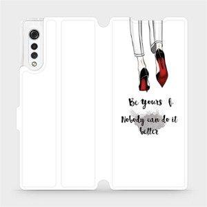 Flipové pouzdro Mobiwear na mobil LG Velvet - M046P Be yourself