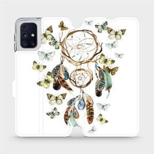 Flipové pouzdro Mobiwear na mobil Samsung Galaxy M31s - M001P Lapač a motýlci