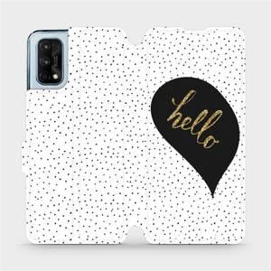 Flipové pouzdro Mobiwear na mobil Realme 7 Pro - M013P Golden hello