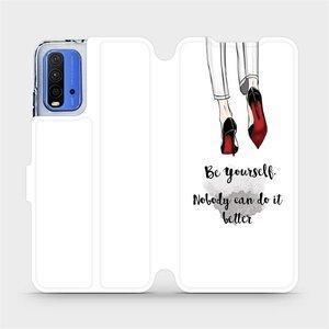 Flipové pouzdro Mobiwear na mobil Xiaomi Redmi 9T - M046P Be yourself