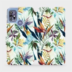 Flipové pouzdro Mobiwear na mobil Motorola Moto G30 - M071P Flóra