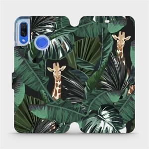Flip pouzdro Mobiwear na mobil Huawei Nova 3 - VP06P Žirafky