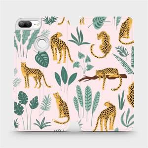 Flip pouzdro Mobiwear na mobil Honor 9 Lite - MP07S Leopardi