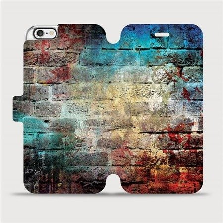 Flipové pouzdro Mobiwear na mobil Apple iPhone 6 / iPhone 6s - V061P Zeď