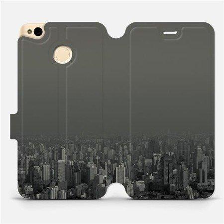 Flipové pouzdro Mobiwear na mobil Xiaomi Redmi 4X - V063P Město v šedém hávu