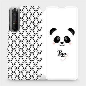 Flipové pouzdro Mobiwear na mobil Sony Xperia 1 II - M030P Panda Amálka