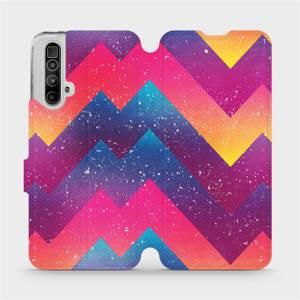 Flipové pouzdro Mobiwear na mobil Realme X3 SuperZoom - V110S Barevné klikyháky