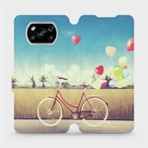 Flipové pouzdro Mobiwear na mobil Xiaomi POCO X3 NFC - M133P Kolo a balónky