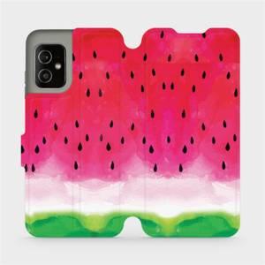Flip pouzdro Mobiwear na mobil Asus Zenfone 8 - V086S Melounek