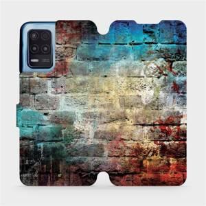 Flip pouzdro Mobiwear na mobil Realme 8 5G - V061P Zeď