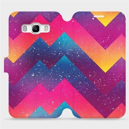 Flipové pouzdro Mobiwear na mobil Samsung Galaxy J5 2016 - V110S Barevné klikyháky