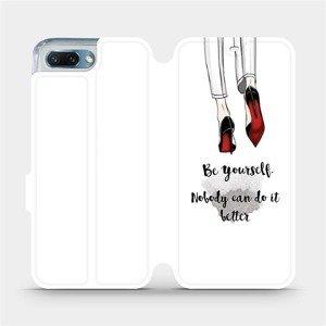 Flipové pouzdro Mobiwear na mobil Honor 10 - M046P Be yourself