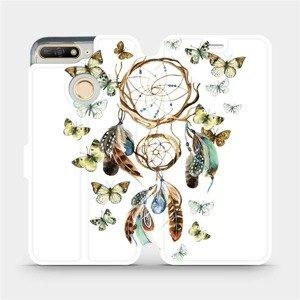 Flipové pouzdro Mobiwear na mobil Honor 7A - M001P Lapač a motýlci