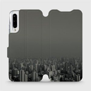 Flipové pouzdro Mobiwear na mobil Xiaomi Mi A3 - V063P Město v šedém hávu