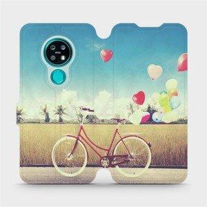 Flipové pouzdro Mobiwear na mobil Nokia 7.2 - M133P Kolo a balónky