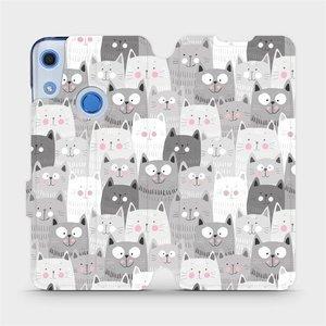 Flipové pouzdro Mobiwear na mobil Huawei Y6S - M099P Kočičky
