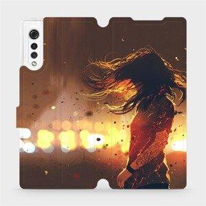 Flipové pouzdro Mobiwear na mobil LG Velvet - MA02S Tetovaná dívka