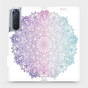 Flipové pouzdro Mobiwear na mobil Sony Xperia 5 II - M008S Mandala