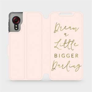 Flipové pouzdro Mobiwear na mobil Samsung Galaxy Xcover 5 - M014S Dream a little