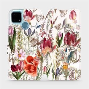 Flip pouzdro Mobiwear na mobil Realme 7i - MP01S Rozkvetlá louka