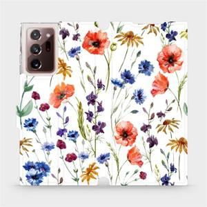Flip pouzdro Mobiwear na mobil Samsung Galaxy Note 20 Ultra - MP04S Luční kvítí