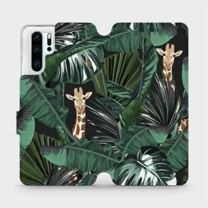 Flip pouzdro Mobiwear na mobil Huawei P30 Pro - VP06P Žirafky