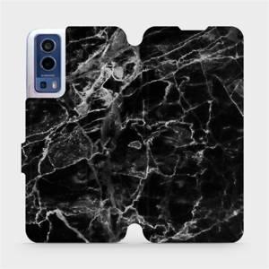 Flip pouzdro Mobiwear na mobil Vivo Y72 5G / Vivo Y52 5G - V056P Černý mramor
