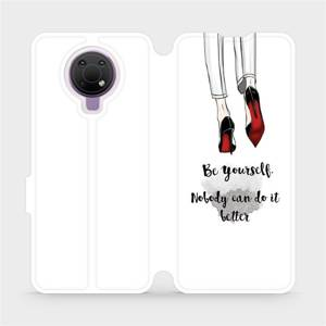 Flip pouzdro Mobiwear na mobil Nokia G10 - M046P Be yourself