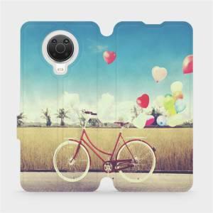 Flip pouzdro Mobiwear na mobil Nokia G20 - M133P Kolo a balónky