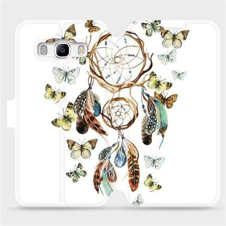Flipové pouzdro Mobiwear na mobil Samsung Galaxy J5 2016 - M001P Lapač a motýlci