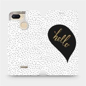 Flipové pouzdro Mobiwear na mobil Xiaomi Redmi 6 - M013P Golden hello