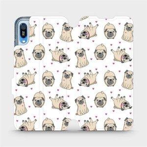 Flipové pouzdro Mobiwear na mobil Huawei Y6 2019 - M097P Mopsíci