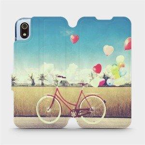 Flipové pouzdro Mobiwear na mobil Xiaomi Redmi 7A - M133P Kolo a balónky